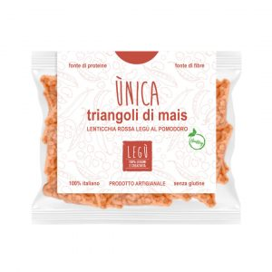 Triangoli mais lenticchia rossa pomodoro amaZEN