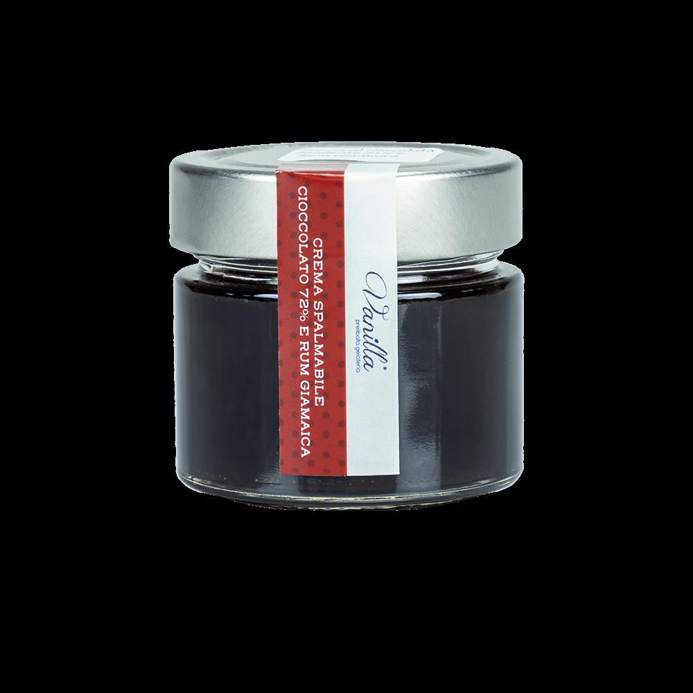 crema spalmabile al cioccolato e rum amaZEN