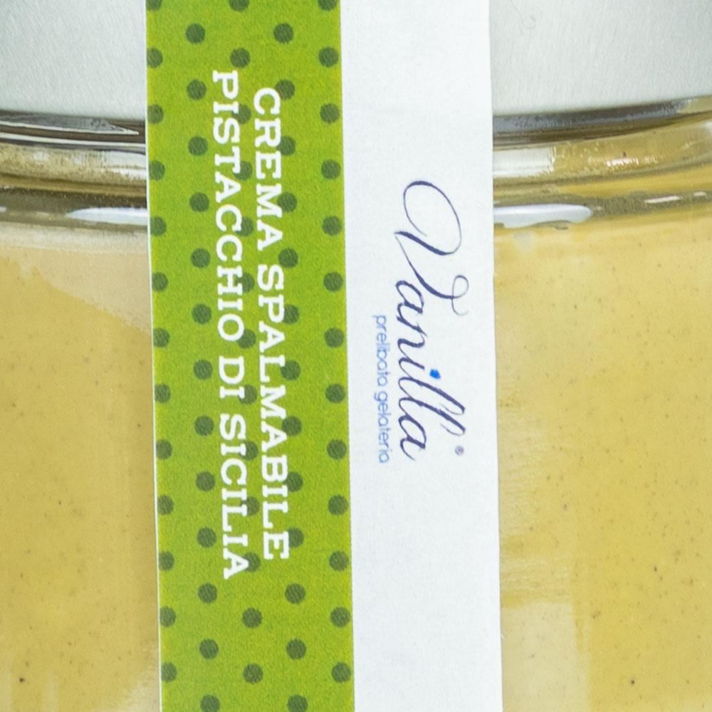crema spalmabile alle pistacchio amaZEN